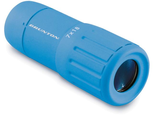 Brunton Scope Monokular 7x18 blau